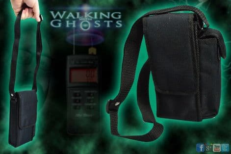 Official Mel Meter Soft Padded Protection Carry Case Ghost Hunting Paranormal UK